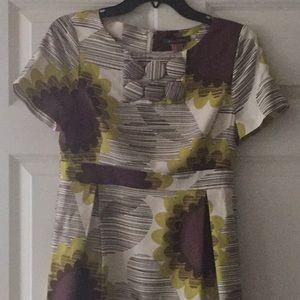Orla Kiely sunflower print waisted dress
